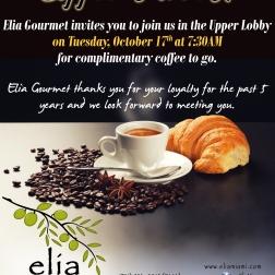 Elia Gourmet Flyer - 10.17.2017 - revised address 2