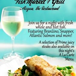 July 24 Fish Market